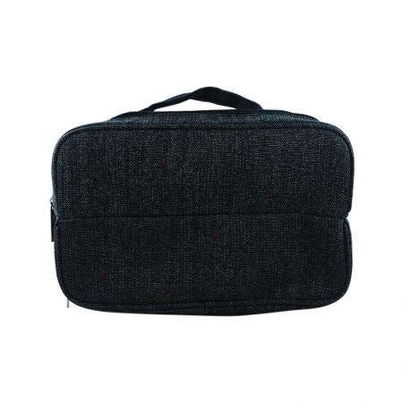 Black Santana Shoe Bag