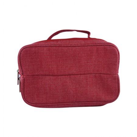 Red Santana Shoe Bag