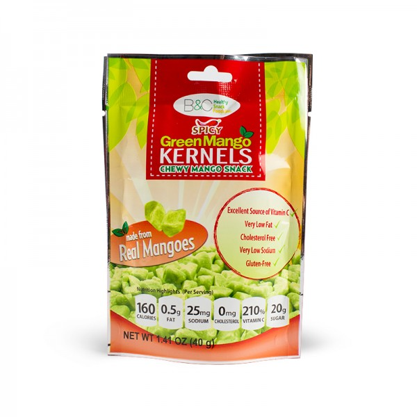 Spicy Green Mango Kernels