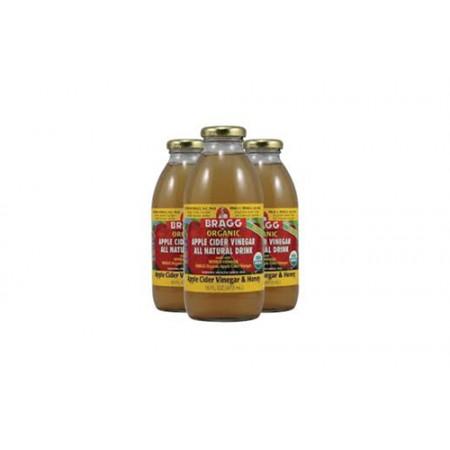 16oz Apple Cider Vinegar and Honey by 3