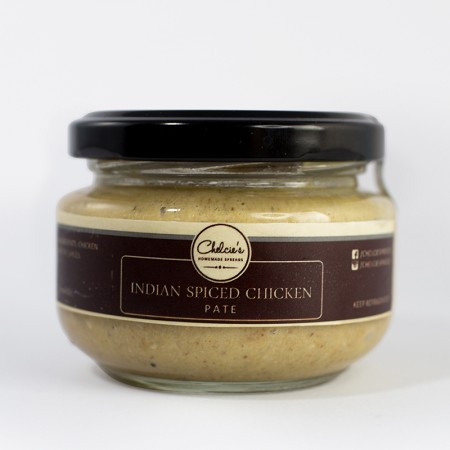 Indian Spiced Chicken Pate