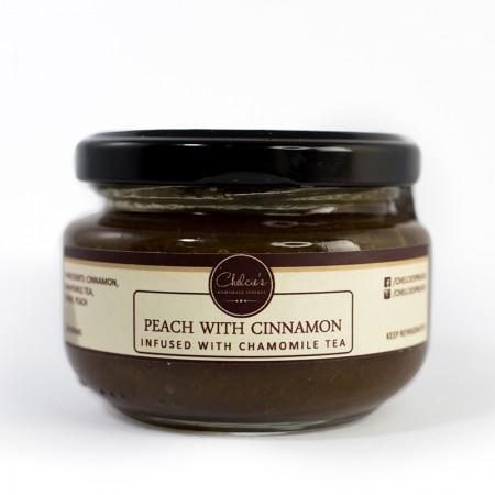 Peach Cinnamon Infused with Chamomile Tea