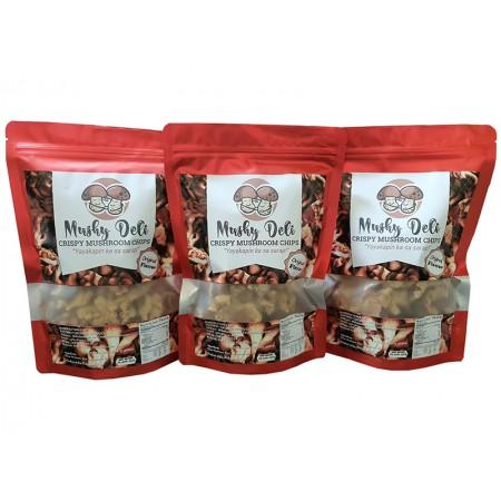 Mushy Deli Crispy Mushroom Chips