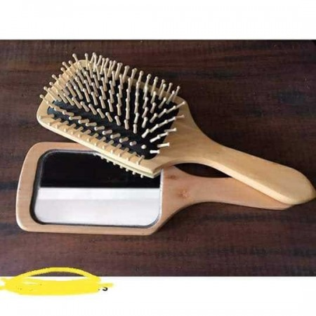 Big Hair Brush and Mirror