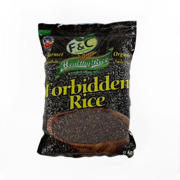Forbidden Black Rice, 2 kg