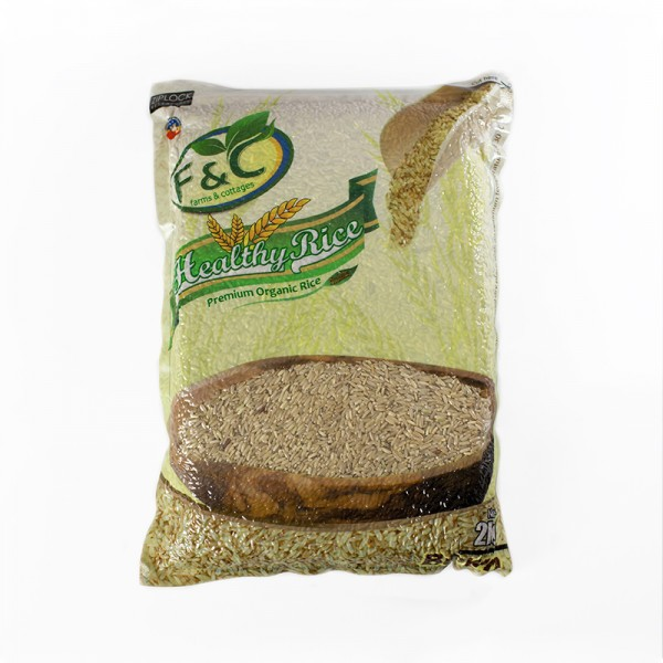 Healthy Rice, Brown 2 kg