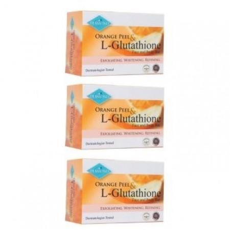 Diamond Orange Peel Soap Bar by 3