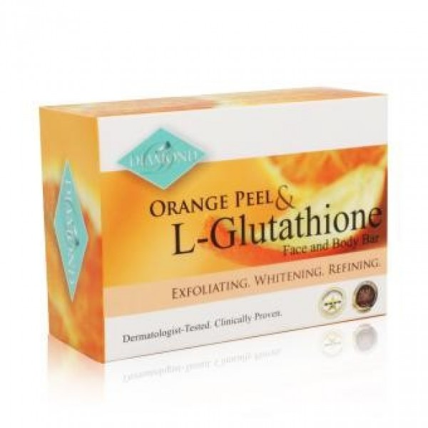 Diamond Orange Peel Soap Bar