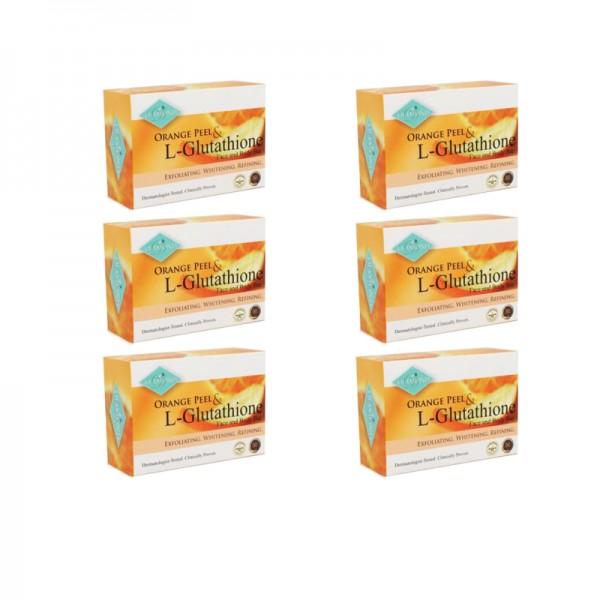 Diamond Orange Peel Soap Bar by 6