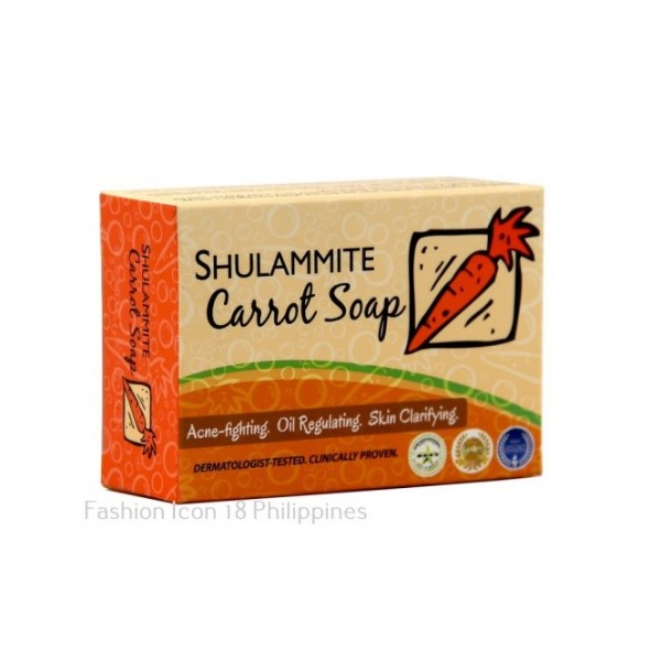 Shulammite Carrot Soap Bar