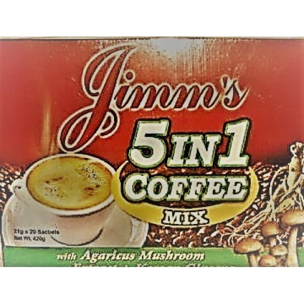 5 in 1 Coffee Mix 20's 21g