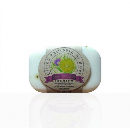 Premium Anti-Aging & Whitening Organic Grapeseed Citrus Soap