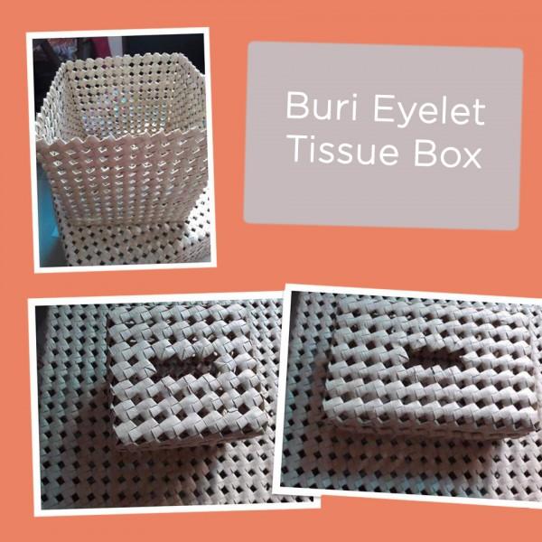 Eyelet Tissuebox (Buri)