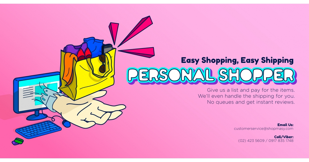 Personal Shopper at your service!