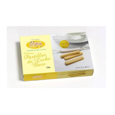 Bulacan Pastillas de Leche Bars Ube 48s