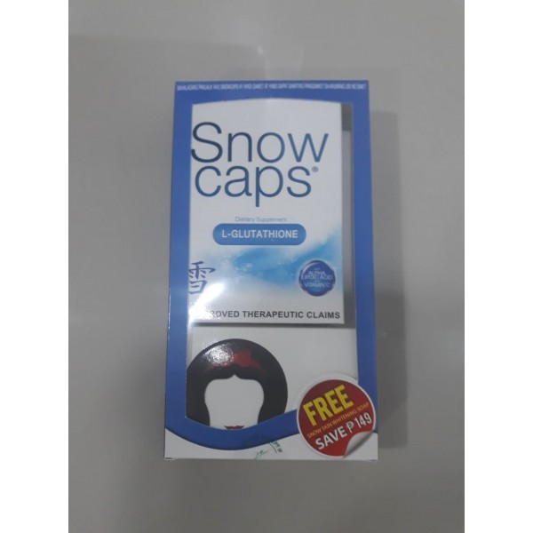 Snow Caps with free Snow Skin Whitening Soap