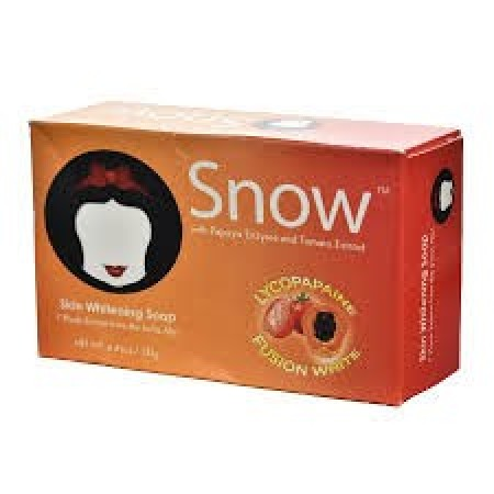 Snow Skin Whitening Papaya with Tomato Soap 125g