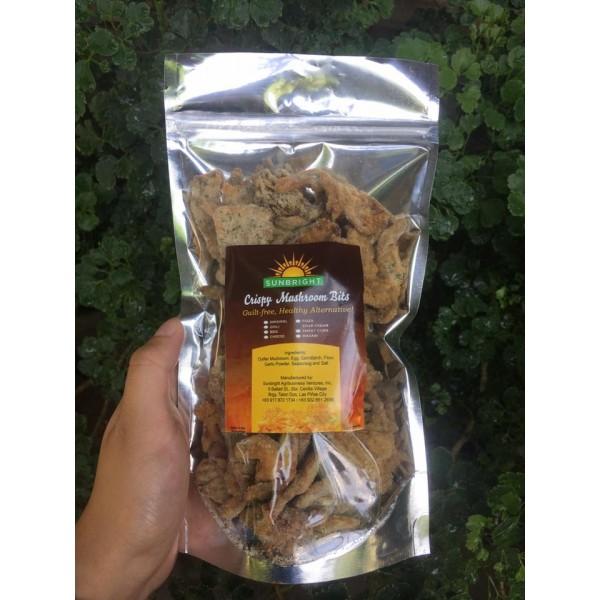Crispy Mushroom Bits (Sour Cream)