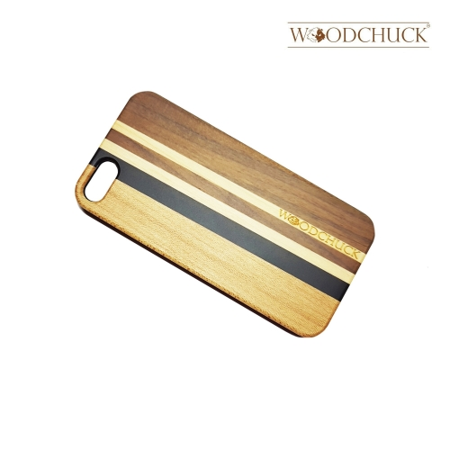 Pickled Oak Wooden Phone Case (iPhone)