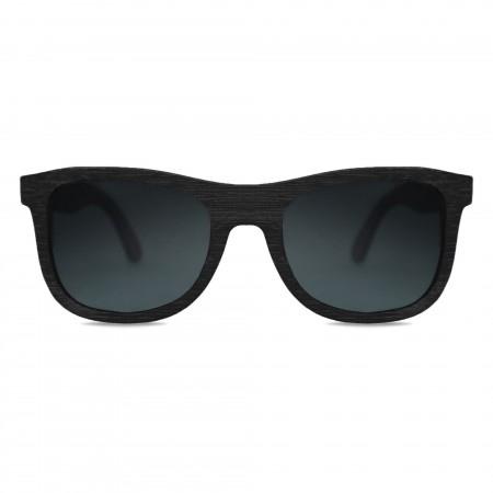 Black Bamboo Wayfarer Sunglasses