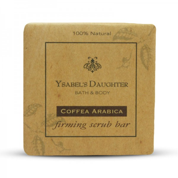 Coffea Arabica Firming Scrub Bar 100g